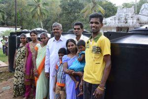 Wasserprojekt in Walpola, Sri Lanka