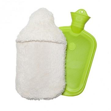 Wärmflasche mit Bezug