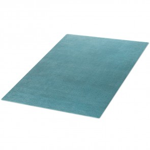 Webteppich COLOR petrolblau