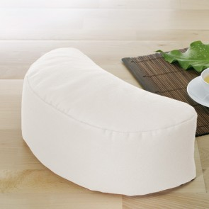 Half-moon cushion
