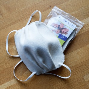 Gesichtsmaske Baumwolle Molton