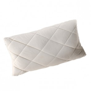 Quilted pure new wool pillow